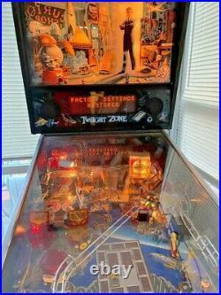Bally Twilight Zone Pinball Machine