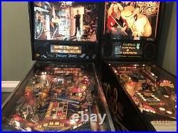 Bally Twilight Zone Pinball Machine & Gottlieb Cue Ball Wizard