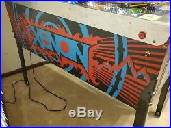 Bally Xenon Pinball Machine Refurbished Works 100% FREE SHIPPING