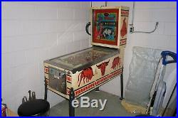Ballys El Toro pinball machine -working condition