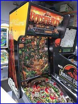 Banzai Run Pinball Machine Williams Coin Op Arcade 1988 Free Shipping