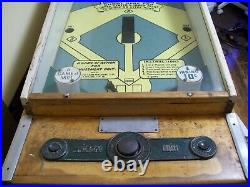 Baseball Pinball Machine Pitch And Bat Chicago Coins
