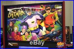 Batman 66 Premium Pinball Machine Jan production