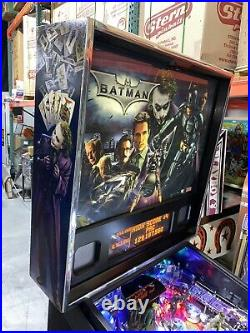 Batman Dark Knight Pinball Machine Stern LEDs Free Shipping 2008