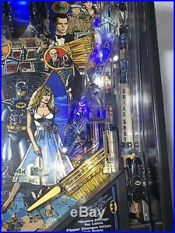 Batman Pinball Machine By Data East Coin Op LED