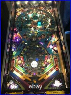 Beatles pinball machine PLATINUM edition #114 of 250 HUO