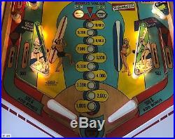 Beautiful Vintage 1976 Gottlieb Surf Champ 4-Player Pinball Machine NICE