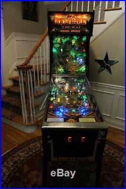 Beautifully restored! Banzai Run 1988 Williams pinball machine! New playfield