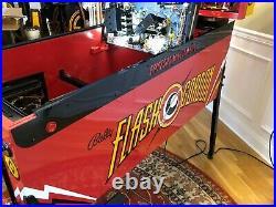 Beautifully restored! Flash Gordon 1981 Bally pinball machine! New playfield