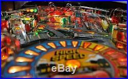 Beautifully restored! High Speed 1986 Williams pinball machine! New playfield
