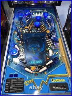 Black Hole Pinball Machine Gottlieb 1981 LEDs Arcade Free Shipping
