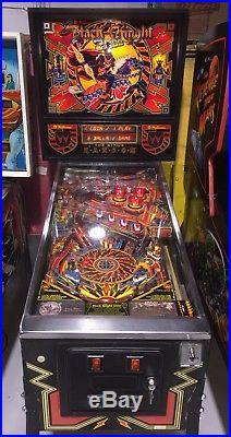 Black Knight 2000 Pinball Machine Williams Steve Ritchie Rare Coin Op Arcade