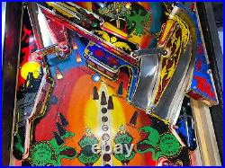 Black Knight Pinball Machine Williams Arcade LEDs Free Ship