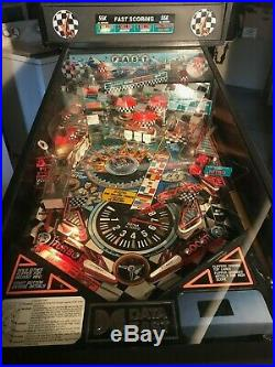 CHECKPOINT racing by DATA EAST Pinball Machine