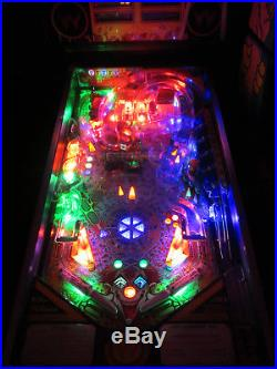 CYCLONE Arcade Pinball Machine Williams 1988 (Custom LED)