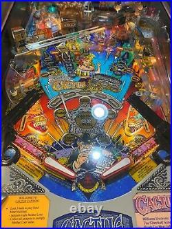 Cactus Canyon Pinball Machine Bally Super clean