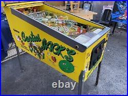 Cactus Jacks Pinball Machine Gottlieb Arcade LEDs Free Shipping