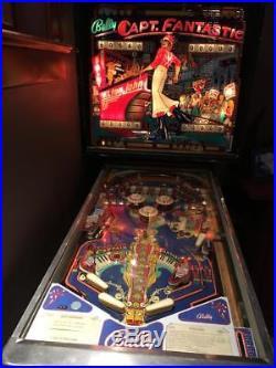 Captain Fantastic-Elton John Pinball Machine
