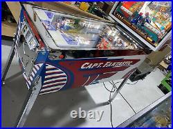 Captain Fantastic Pinball Machine 1976 Bally LEDS Restored Free Shipping