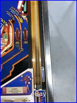 Captain Fantastic Pinball Machine Coin Op Bally 1976 Free Shipping