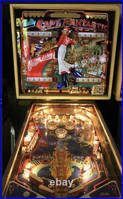 Captain Fantastic Pinball Machine Coinop 1st Owner Beautiful All Original Works
