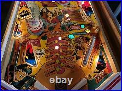 Charlie's Angels Pinball Machine, Atlanta (#502) (Working great!)
