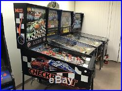 Checkpoint, Data East, Full Size Pinball Machine, Working 100% Calif, Porsche