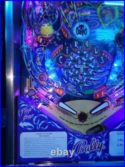 Cirqus Voltaire Pinball Machine By Bally ColorDMD LED Free Ship Beautiful
