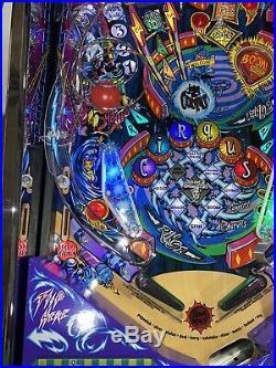 Cirqus Voltaire Pinball Machine Williams Coin Op Arcade LEDS Chrome Free Ship
