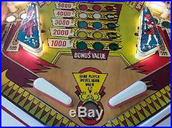 Cleopatra Pinball Machine by Gottlieb-FREE SHIPPING
