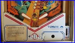 Close Encounters of the Third Kind Pinball Machine (Gottlieb) 1978