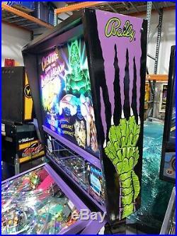 Creature From The Black Lagoon Pinball Machine Bally LEDs Custom Hand Painted