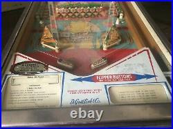 D GottliebTarget Pool Pinball Machine 1969 single slot
