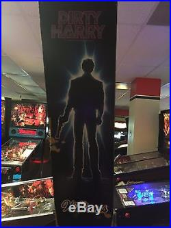 DIRTY HARRY Pinball Machine Williams 1995 Great for Any Home Arcade