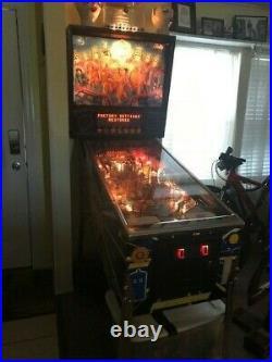DR WHO Pinball Machine by BALLY 1992