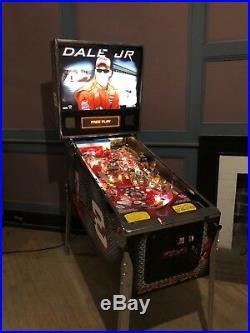 Dale Jr Nascar Pinball Arcade Machine by Stern HUO