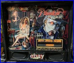 Data East Phantom Of The Opera Pinball Machine