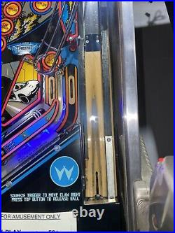 Demolition Man Pinball Machine Williams Arcade 1994 Free Shipping LEDs