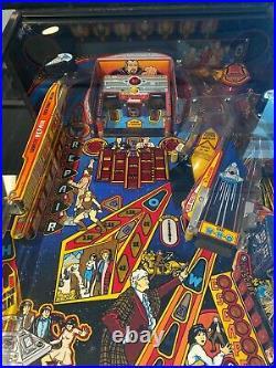 Doctor Who Pinball Machine