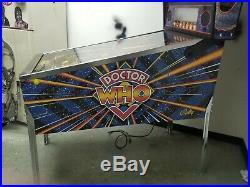 Dr Who pinball machine