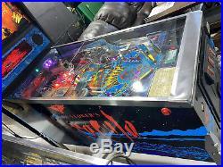 Dracula Pinball Machine Bally Coin Op Arcade 1993 Free Shipping LEDs