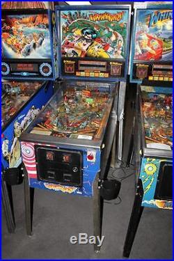 EARTHSHAKER pinball machine Williams 1989 Don't get shaken up