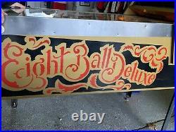 Eight Ball Deluxe Pinball LE 1982