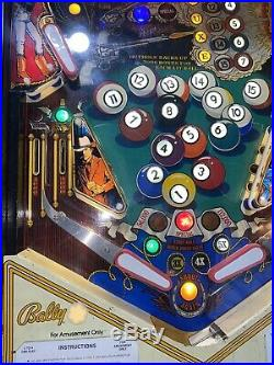Eight Ball Deluxe Pinball Machine LEDs Coin Op Bally 1981 Free Shipping