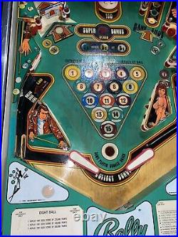 Eight Ball Pinball Machine Coin Op Bally Free Shipping