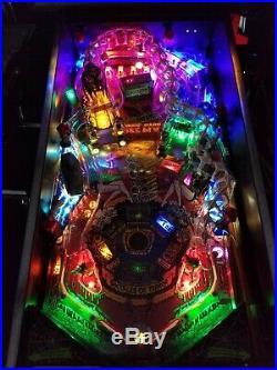 Elvira Scared Stiff Pinball Machine Bally 1996 Boogie Men MOD LEDS