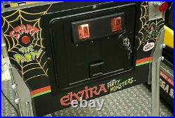 Elvira party monsters pinball arcade bally midway Free shipping with buy it now