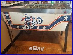 Evel Knievel PINBALL MACHINE 1977 BALLY LEDS LED DISPLAYS $399 SHIPS