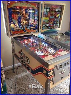 Evel Knievel- Pinball Machine Classic Bally