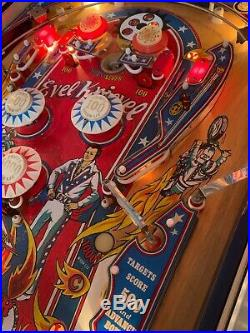 Evel Knievel Pinball Machine by Bally'77